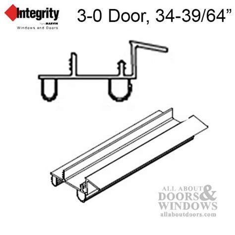 marvin door weatherstrip for hinged doors