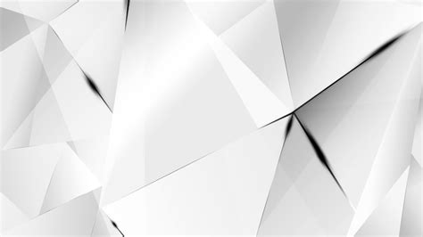 Abstract Shapes Bg by Wallpapers Black Abstract Polygons White Bg By