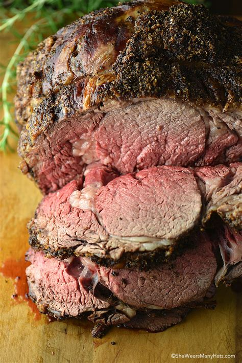 recipe for prime rib roast prime rib roast recipe she wears many hats