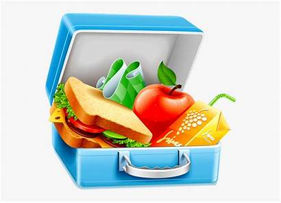 Lunch Clipart Healthy Box Clip Lunchbox Background