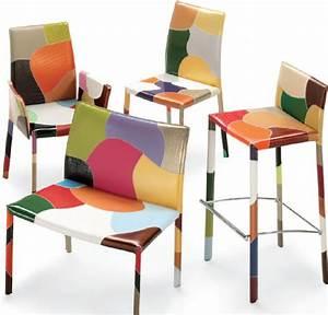 Tabouret De Bar Patchwork : chaises et tabourets en cuir airnova ~ Melissatoandfro.com Idées de Décoration