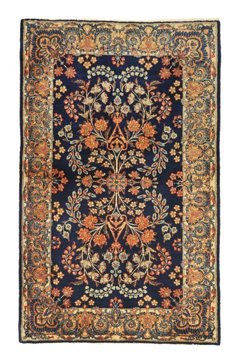 tappeti persiani kirman tappeto persiano kirman antico a fondo intenso sul