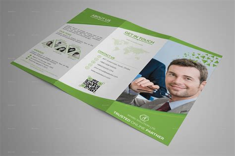 blueloy tri fold brochure template  aksbd graphicriver
