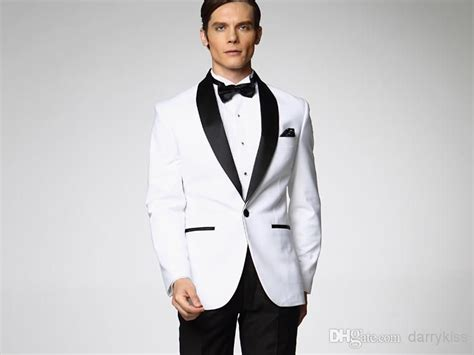 2015 Classic Groom Tuxedos Custom Made Wedding Suit For