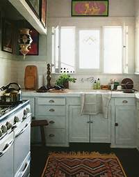 lovely simple kitchen plan 25 Whimsy Bohemian Kitchens - MessageNote