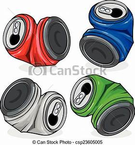 Metal cans clipart - Clipground