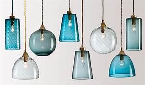 Flodeau handblown glass lighting by rothschild