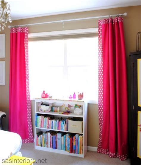 how to add decorative trim to curtains for cheap