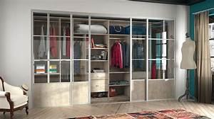 dressing pour votre chambre portes de placard pour chambre With porte d entrée alu avec ou acheter son meuble de salle de bain