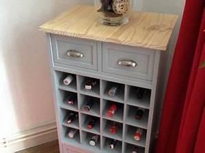 Meuble Rangement Bouteille : meuble bar range bouteilles en bois creation bricolage rangement diy meuble bar bouteille alcool ~ Melissatoandfro.com Idées de Décoration