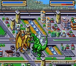 Godzilla Domination ROM Download For Gameboy Advance