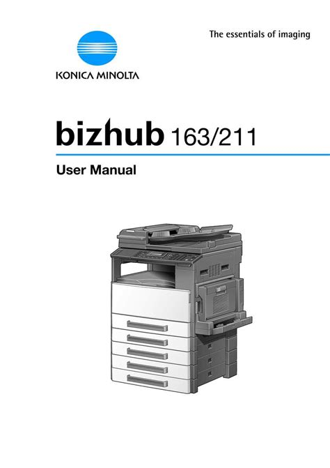Konica minolta 211 drivers will help to correct errors and fix failures of your device. Bizhub 211 Printer Driver - Utility software download driver download catalog download bizhub ...