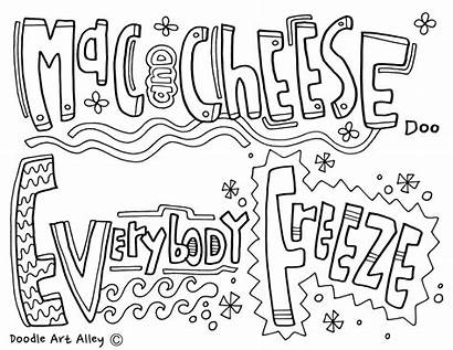 Cheese Coloring Mac Everybody Freeze Call Pages