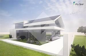 Moderne Häuser Mit Satteldach : architektenhaus satteldach in moderner architektur bauen ~ Lizthompson.info Haus und Dekorationen