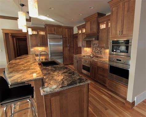 kitchen bar design quarter affordable custom cabinets showroom oak raised panel 5093