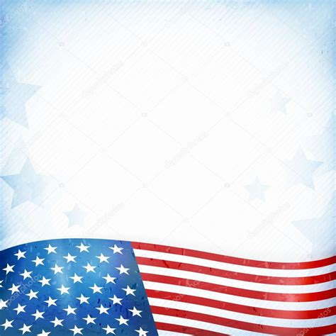 Usa Background Usa Patriotic Background With And Stripes Stock