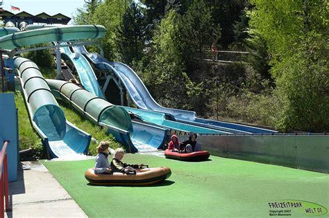 Wasserrutschen  Rastiland Freizeitparkweltde