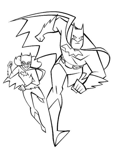 Kleurplaat Batgirl by Kleurplaten En Zo 187 Kleurplaten Batman