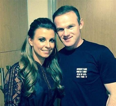 rooney coleen wayne united richie lionel celebrates concert win wife caughtoffside rumours manchester