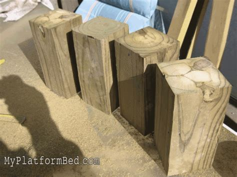 Strong And Tough Platform Bed Diy 7 Steps (with Pictures