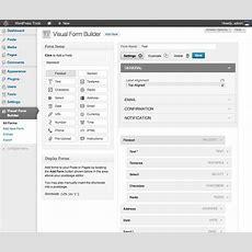Visual Form Builder Wordpressorg