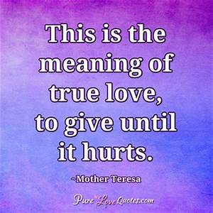 Imagining a lif... Hurt Meaning Quotes