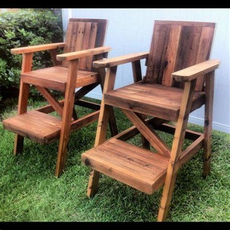 reclaimed cedar lifeguard chairs furniture outdoor