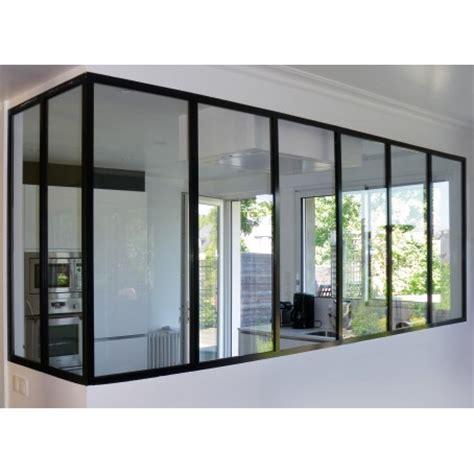 verri鑽e cuisine separation vitree entre cuisine et salon maison design bahbe com