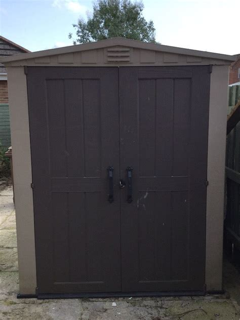 Keter 6x6 Shed by Keter Factor 6x6 Plastic Shed For Sale In Verwood