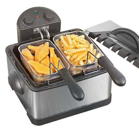 deep fryer fat dual fryers prices savoureux pro line fried lowest cheap read