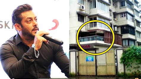 Salman Khan Explains Why He Still Lives In Flat Instead Of