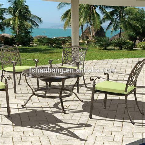cheap 6 person patio set wholesale outdoor garden 4 person cast aluminum patio