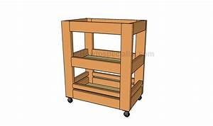 Kitchen, Cart, Plans