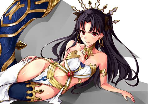 Ishtar And Toosaka Rin Fategrand Order And Fate Series