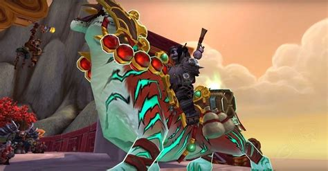Monk Class Mount And Quest