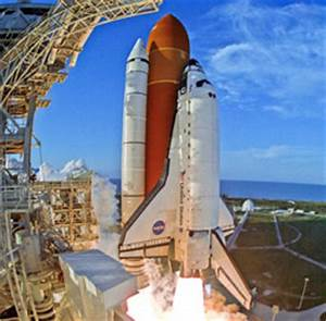 On Flight Day 26 in our scenario, Atlantis launches to ...