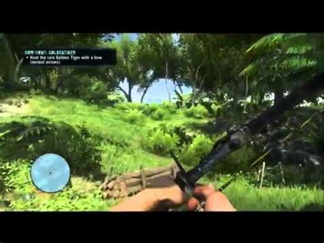 Far Cry Rare Animal Golden Tiger Poacher