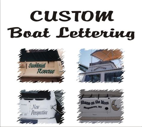 Boat Decals In Pittsburgh by Custom Boat Lettering Boat Marine Decals 21st