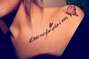 Tattoos For Girls on Shoulder - Tattoos For Girls
