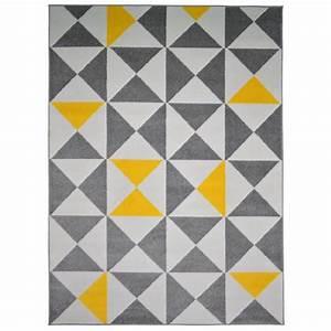 Tapis C Discount : tapis jaune achat vente tapis jaune pas cher cdiscount ~ Teatrodelosmanantiales.com Idées de Décoration