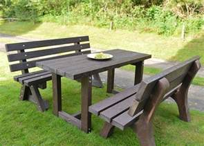 delighful garden furniture table bench seat round with seating s for decor