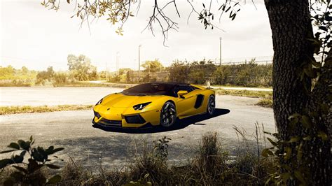 lamborghini aventador  roadster vorsteiner wallpapers