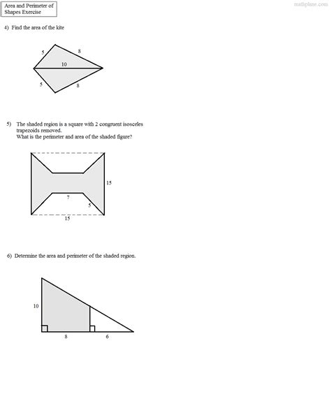 worksheet area of composite shapes worksheet grass fedjp