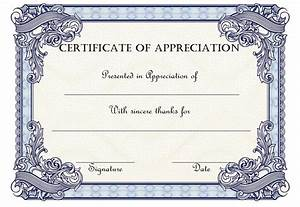 employee recognition certificates 10 editable certificate of appreciation templates free