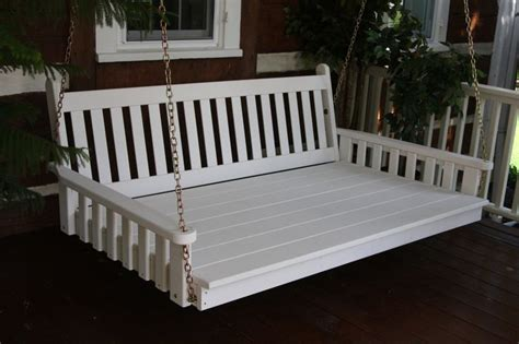 oversized porch swing porch swing bed cushions woodworking projects plans