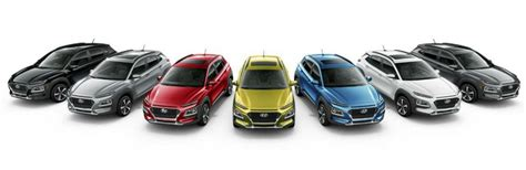 hyundai kona exterior interior color options