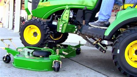 how to install and remove a john deere 60d drive over
