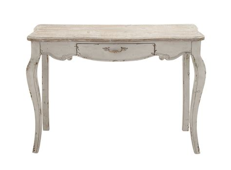 french country entryway table shabby distressed white wood console hall entryway sofa