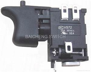 Variable Speed Power Tool Switch 25a 36v - Vs72