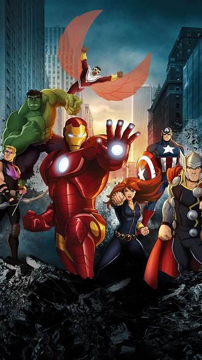 Avengers Assemble Marvel Phone Wallpapers Moviemania Fondos